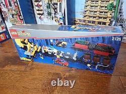 Lego System 9V Set 2126 Train Cars New Complete Sealed