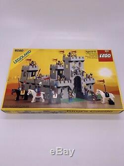 Legoland LEGO Castle System 6080 Lion Knights Kings Castle 1984 Brand NEW SEALED