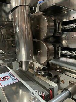 Liquid Form Fill Seal, Take Away Conveyor, 200 Liter Jacketed Tank w Agitator
