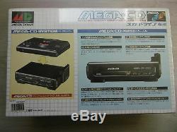 MEGA CD 1 NEUF Sous Blister pour MEGADRIVE / Sega MegaCD Jap BRAND NEW Sealed