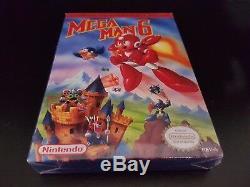 Mega Man 6 VI NES Nintendo Entertainment System Brand New Factory Sealed