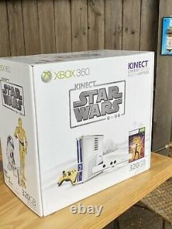 Microsoft Xbox 360 320GB Kinect Star Wars Limited Edition (SEALED)