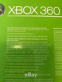 Microsoft Xbox 360 Core System Launch Edition STILL SEALED & BOX NEw Sealed