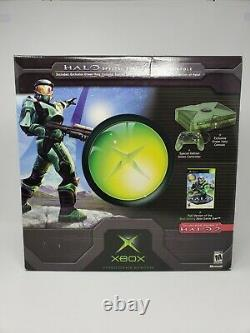 Microsoft Xbox Green Halo Special Edition Console System New Sealed