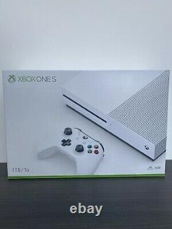Microsoft Xbox One S 1TB Console BRAND NEW Sealed slight damage to box see photo