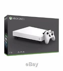 Microsoft Xbox One X 1TB Black New Sealed