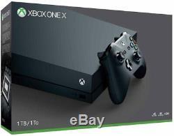 Microsoft Xbox One X 1TB Console Black Brand New in sealed box with UK plug