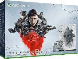 Microsoft Xbox One X 1TB Gears 5 Console Bundle-Brand new sealed with UK plug