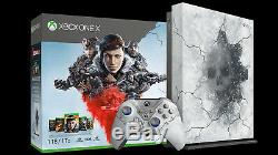 Microsoft Xbox One X 1TB Gears 5 Limited Edition Console Bundle BRAND NEW SEALED