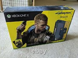 Microsoft Xbox One X Cyberpunk 2077 Limited Edition Console with game SEALED