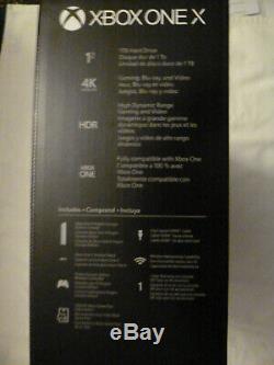 Microsoft Xbox One X Project Scorpio Edition New Sealed