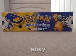 N64 Nintendo 64 console Pokemon Pikachu edition NEW SEALED unopened PAL