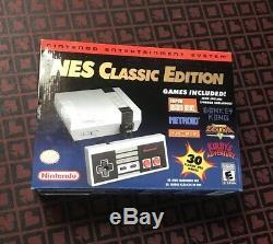 NES Classic Edition Mini Nintendo Entertainment System Brand New SEALED Genuine