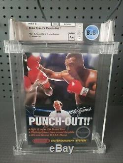 NES Nintendo Entertainment System Mike Tyson's Punch-Out Sealed Wata 8.5 A+
