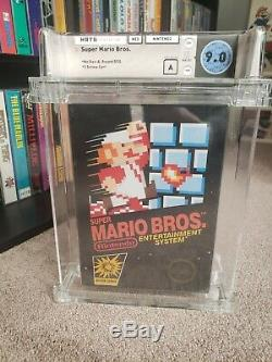 NES Nintendo Entertainment System Super Mario Bros. Sealed New Wata 9.0 A