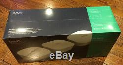 NEW Eero AC Dual-Band Mesh Wi-Fi System (3 Pack) J010311 Factory Sealed NEW
