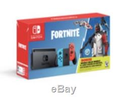 NEW Fortnite Double Helix Nintendo Switch Console Bundle $1,000 V-Bucks SEALED
