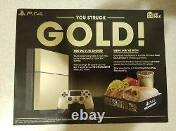 NEW Gold PS4 Taco Bell Limited Edition Sony PlayStation 4 Console SEALED not PS5