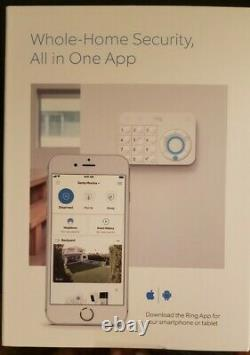 NEW Ring Alarm Wireless Home Security System Complete 5-Piece Kit. NEW SEALED