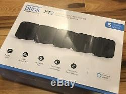 NEW SEALED Blink XT2 5 Camera 1080p Indoor Outdoor Home Security System Alexa