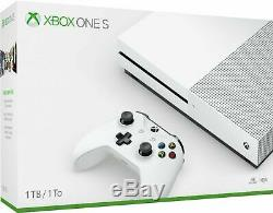 NEW SEALED Microsoft Xbox One S 1TB Console White FAST SHIPPING