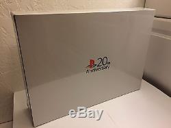 NEW SEALED PS4 20th Anniversary Console (RARE!)