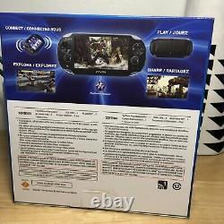 NEW SEALED SONY PLAYSTATION VITA PS VITA PCH-1001 Wi-Fi OLED CRYSTAL BLACK