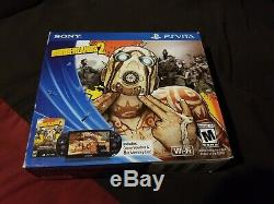NEW & SEALED! Sony PS Vita Console with Borderlands 2 Bundle