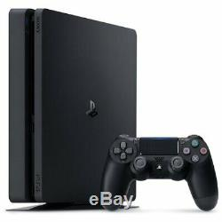 NEW Sony PlayStation 4 PS4 Slim 500GB System Console Black BRAND NEW SEALED