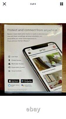 NEWithSEALED Arlo Pro 3 2K QHD Wire-Free Security Camera System