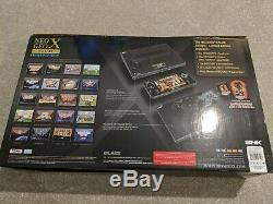 Neo Geo X Gold Limited Edition SNK Ninja Masters Sealed Used Once cd aes
