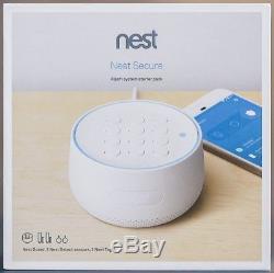 Nest Secure Alarm System Starter Pack White H1500ES Sealed