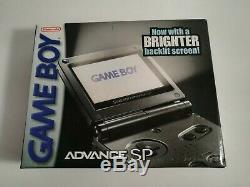New Factory Sealed Game Boy Advance Sp Gba Ags 101 Brighter Screen Graphite Sale
