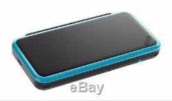 New Nintendo 2DS XL Black & Turquoise Console New & Sealed Fast Shipping