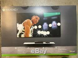 New Seal Microsoft Xbox One X 1TB NBA 2K19 Bundle Black 4K Blu-ray Game Console