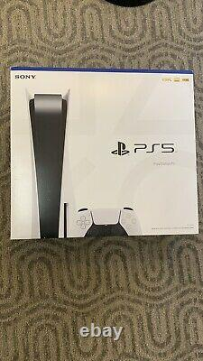 New Sealed Sony PS5 Blu-Ray Disc Disk Edition Console, In Hand, PlayStation NIB