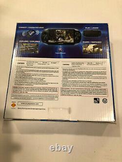 New Sealed! Sony PS Vita PlayStation Vita PCH-1001