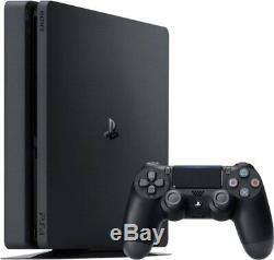New & Sealed Sony Playstation 4 PS4 Slim 1TB Gaming Console Black CUH-2215B