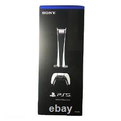 New Sony PS5 Digital Edition Console- White FACTORY SEALED SHIPS FAST
