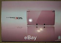Nintendo 3DS Pearl Pink ORIGINAL Handheld System Console BRAND NEW SEALED