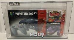 Nintendo 64 N64 VGA 85+ Pokemon Snap Blister Pack Factory Sealed Brand New Mint