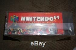 Nintendo 64 Vga 85+ Qualified Console System NEW Factory Sealed