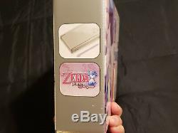 Nintendo DS Lite Legend of Zelda Phantom Hourglass Gold Handheld. NEW & SEALED