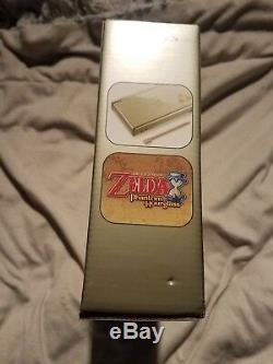 Nintendo DS Lite Legend of Zelda Phantom Hourglass Gold Handheld System SEALED