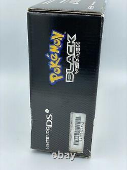 Nintendo DSi Pokemon BLACK Reshiram & Zekrom Sealed System Console Bundle GRAIL