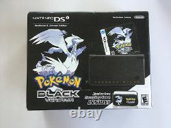 Nintendo DSi Pokemon Black/ Pokemon White Reshiram & Zekrom Sealed Bundle HTF