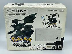 Nintendo DSi Pokemon WHITE Reshiram & Zekrom Sealed System Console Bundle GRAIL