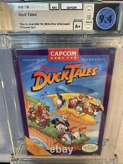 Nintendo Entertainment System NES Duck Tales Sealed WATA 9.4 A+ Capcom, NEW