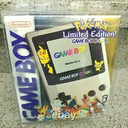 Nintendo GameBoy Game Boy Color Pokemon Limited Edition New Factory Sealed