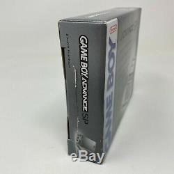 Nintendo Game Boy Advance SP Platinum Handheld Console New Factory Sealed
